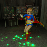 supergirl weakened with green kryptonite